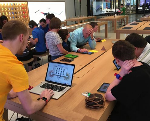 Apple Store Visit